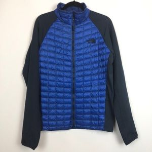 The North Face Quilted Nylon Puffr Full Zip Jacket